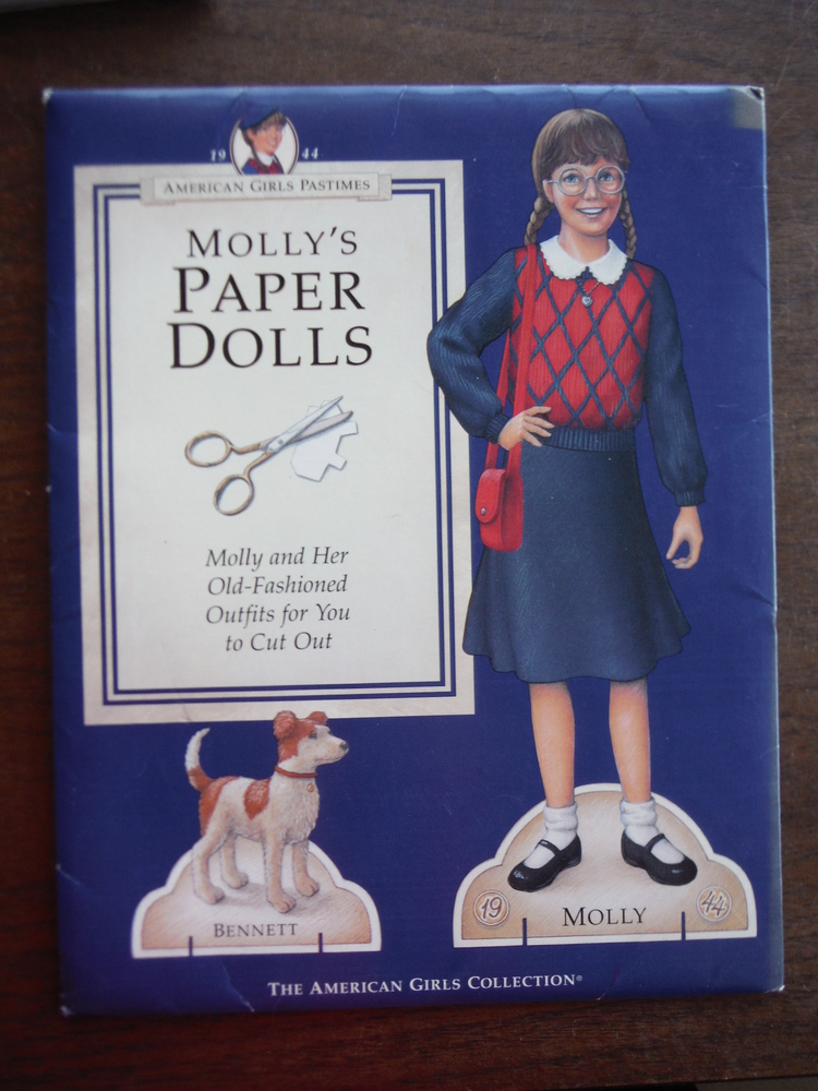 Image 0 of Molly's Paper Dolls (American Girls Pastimes)