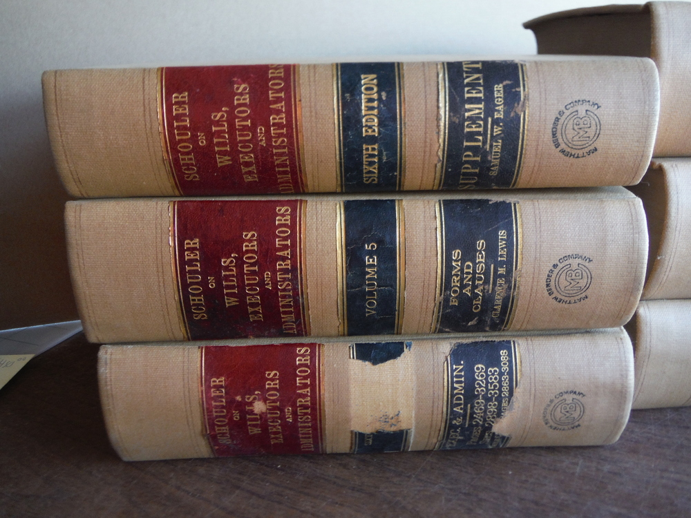 Image 1 of Law of Wills Executors and Administrators - Sixth Edition (Five Volumes Plus Sup