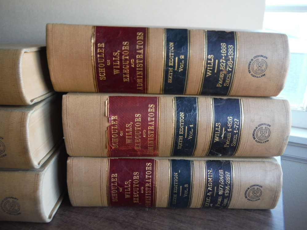 Image 2 of Law of Wills Executors and Administrators - Sixth Edition (Five Volumes Plus Sup
