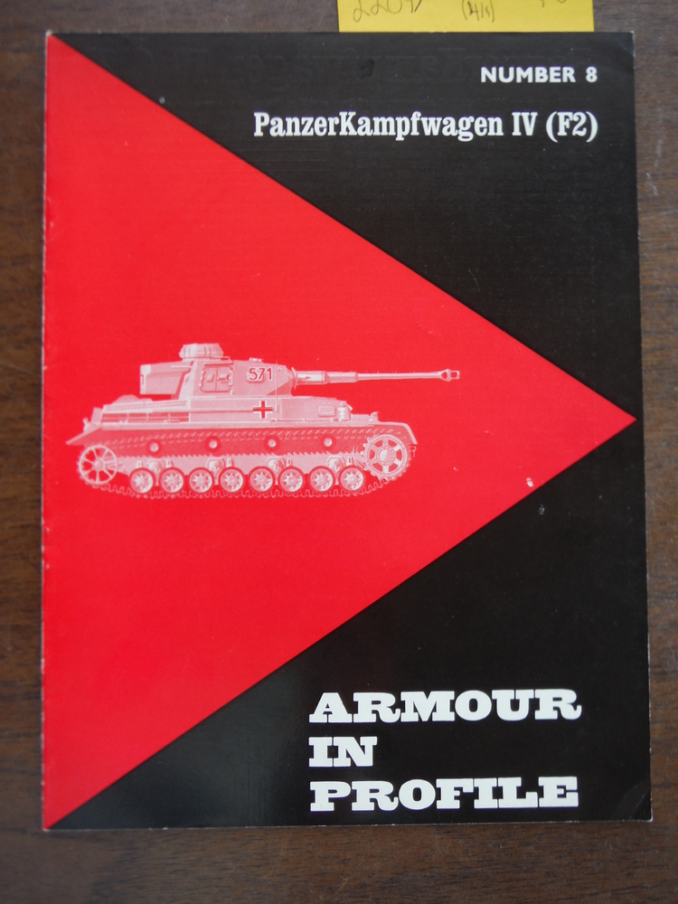 Armour in Profile No. 8: PanzerKampfwagen IV (F2)