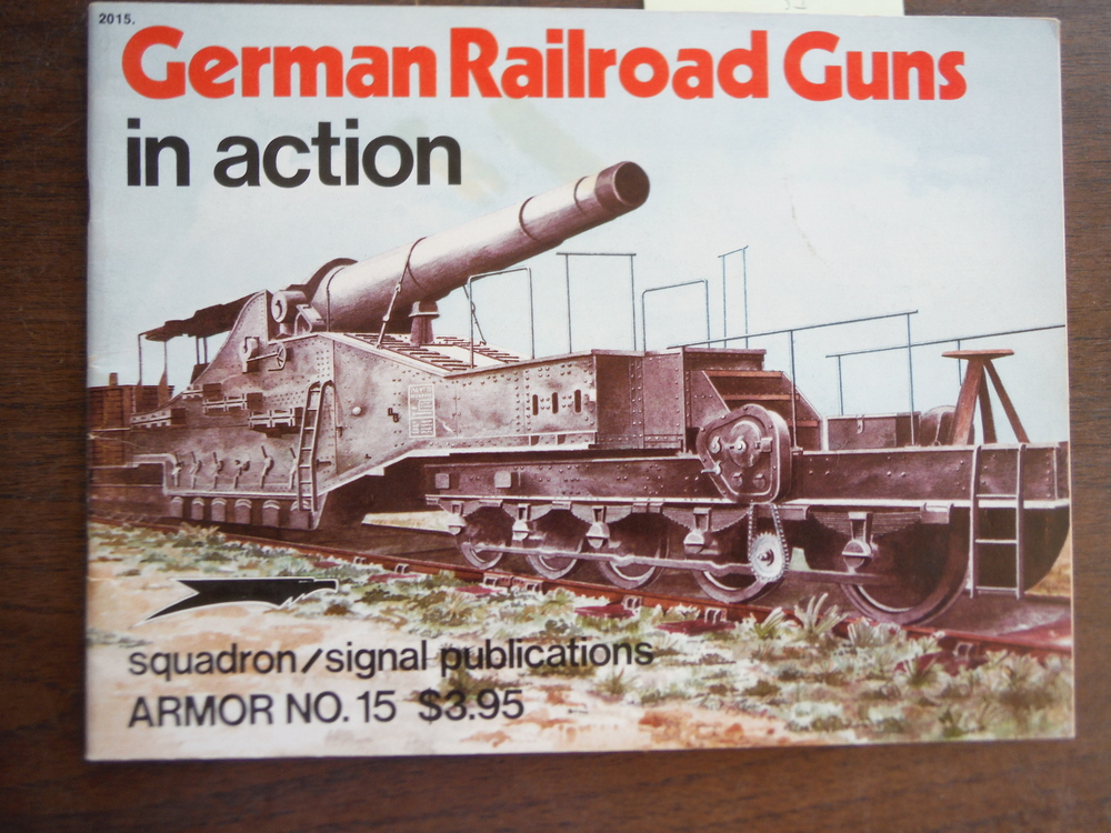 German Railroad Guns in Action - Armor No. 15