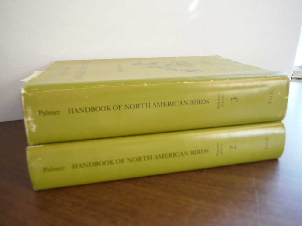 HANDBOOK OF NORTH AMERICAN BIRDS. WATERFOWL. TWO VOLUMES (PART I & 2).
