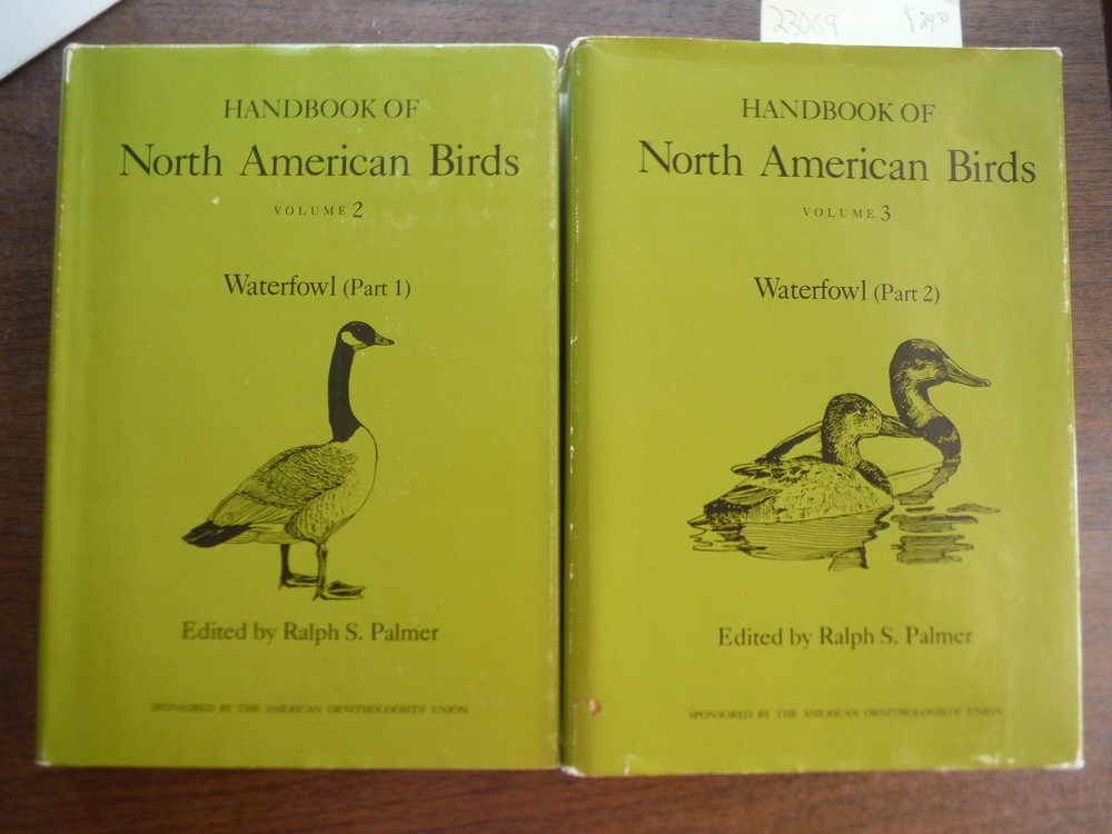 Image 1 of HANDBOOK OF NORTH AMERICAN BIRDS. WATERFOWL. TWO VOLUMES (PART I & 2).