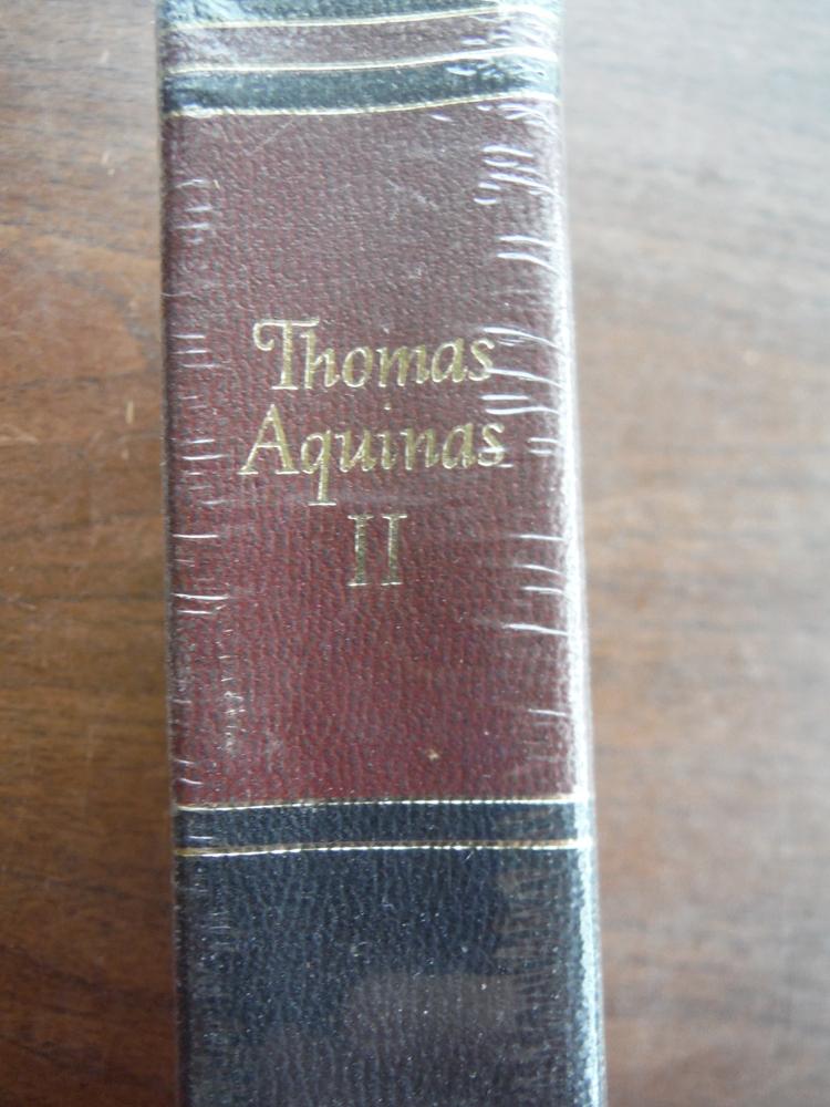 Image 1 of The Summa Theologica of Saint Thomas Aquinas, Vol. II (Great Books of the Wester