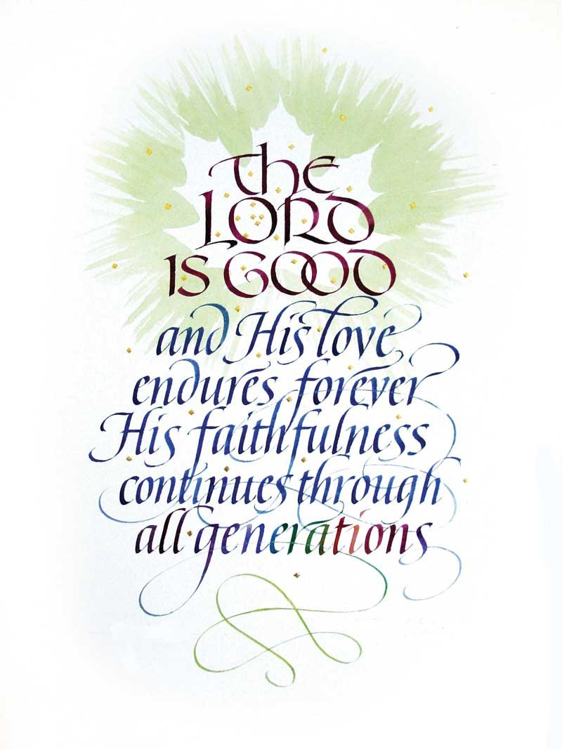 Thumbnail of Psalm 100:5 #402