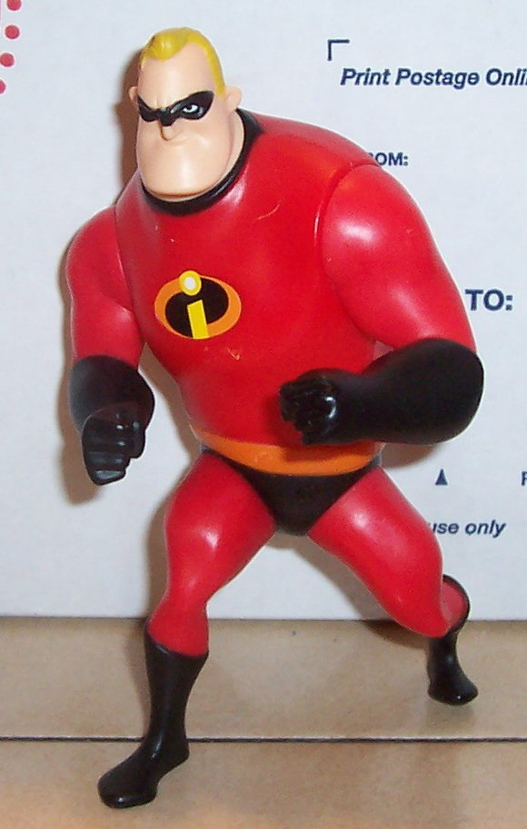 The Incredibles Toys : Mcdonalds the incredibles mr incredible happy meal