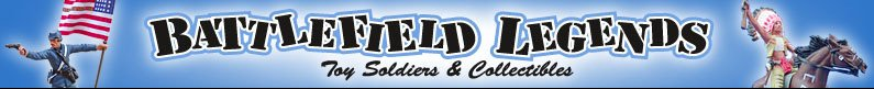Battlefield Legends Toy Soldiers and Collectibles