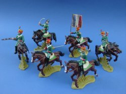 Thumbnail of BACK IN STOCK! Britains Deetail DSG Napoleonic French Imperial Guard Chasseurs