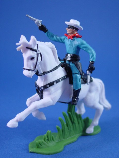Britains Deetail Toy Soldiers Western Hero The Lone Ranger ...