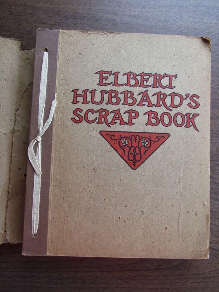 Image 1 of Elbert Hubbard's Scrapbook