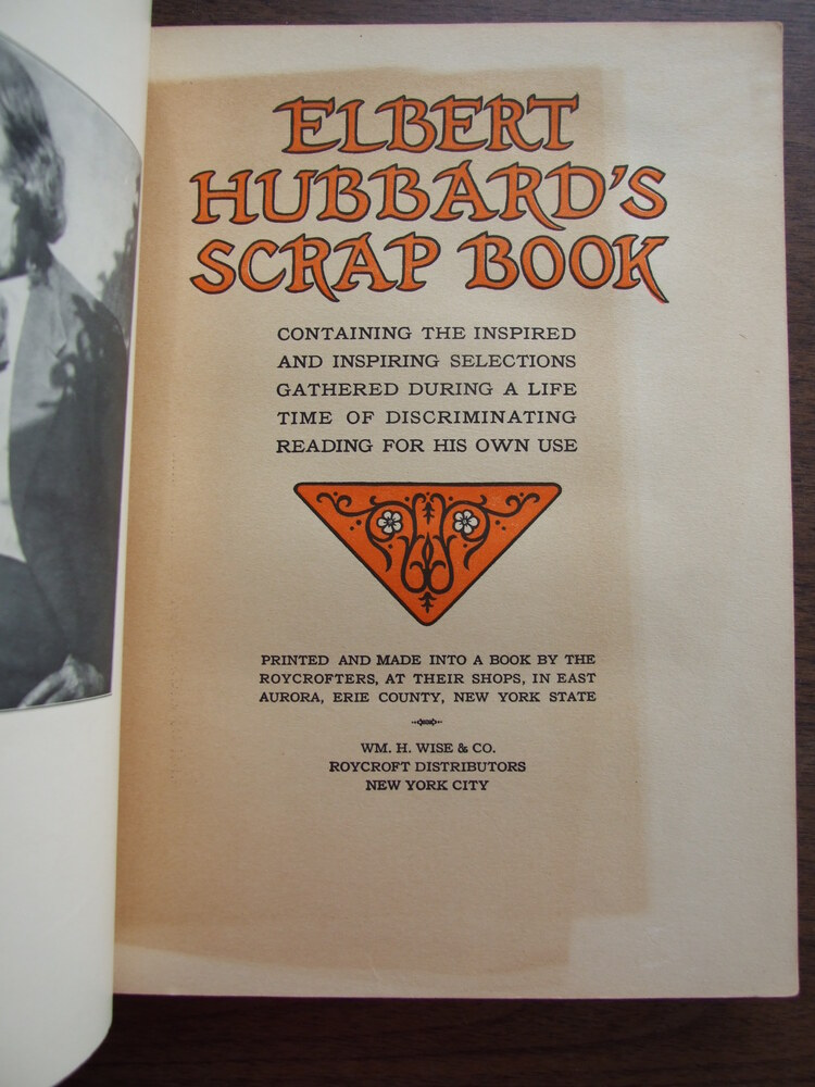 Image 2 of Elbert Hubbard's Scrapbook
