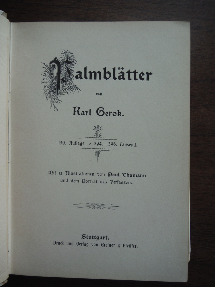 Image 1 of Palmblatter