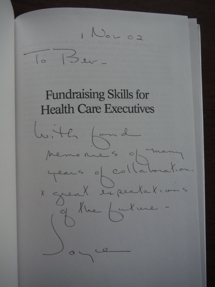 Image 1 of Fundraising Skills For Health Care Executives