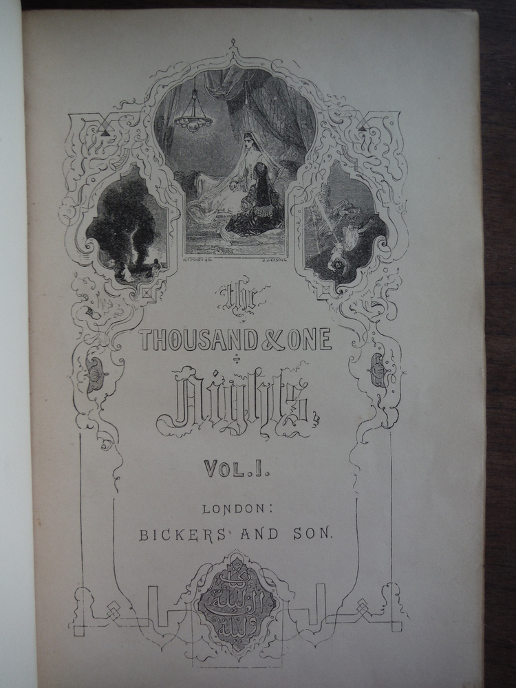 Image 1 of The Thousand and One Nights (Vols. I and II)