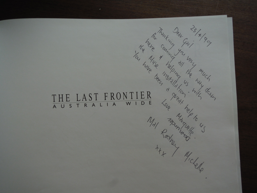Image 1 of THE LAST FRONTIER: Australia Wide. [SIGNED].
