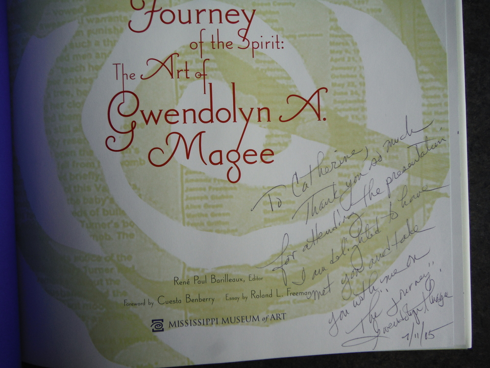 Image 1 of Journey Of The Spirit: The Art Of Gwendolyn A. Magee
