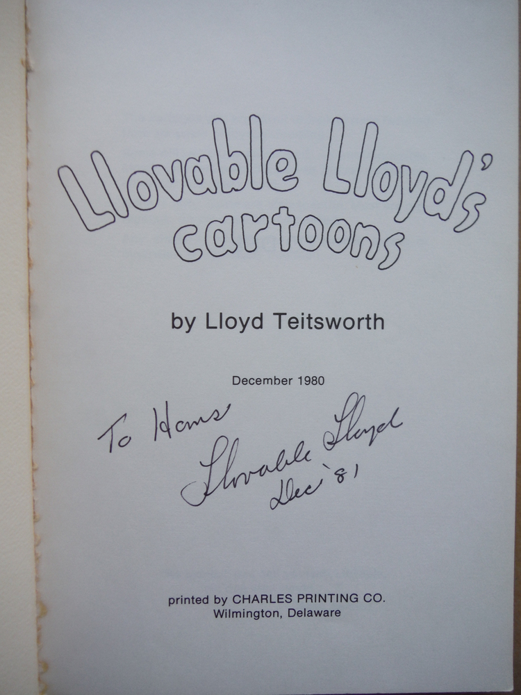 Image 1 of Llovable Lloyd's Cartoons