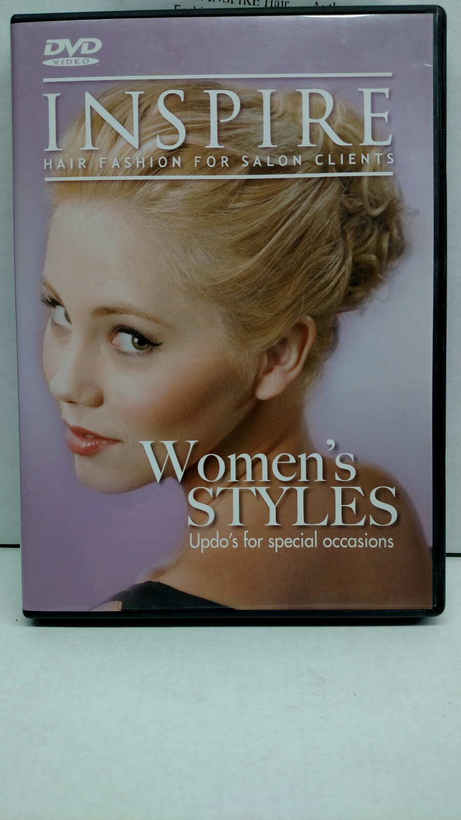 INSPIRE Hair Fashion DVD Women's Styles Updo's For Special Occasions BK-60573