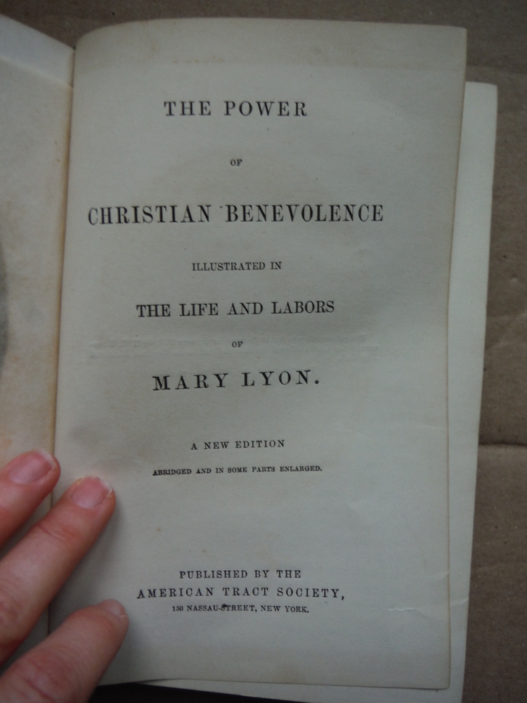 Image 1 of The Power of Christian Benevolence Illustrated in the Life and Labors of Mary Ly
