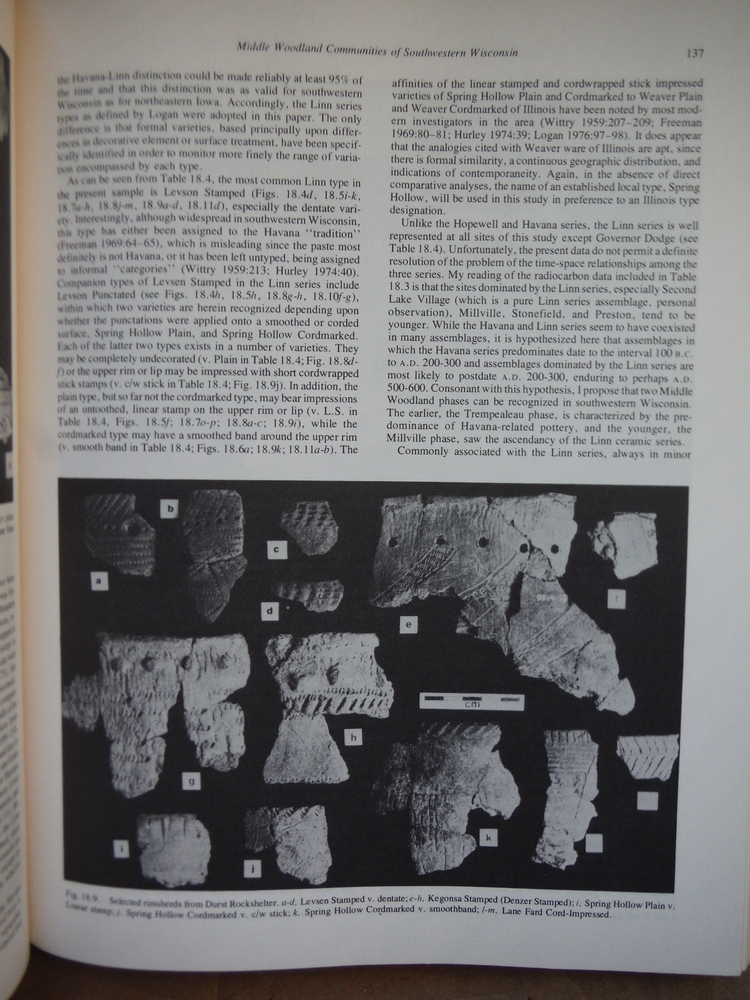 Image 2 of Hopewell Archaeology (MCJA special paper ; no. 3)