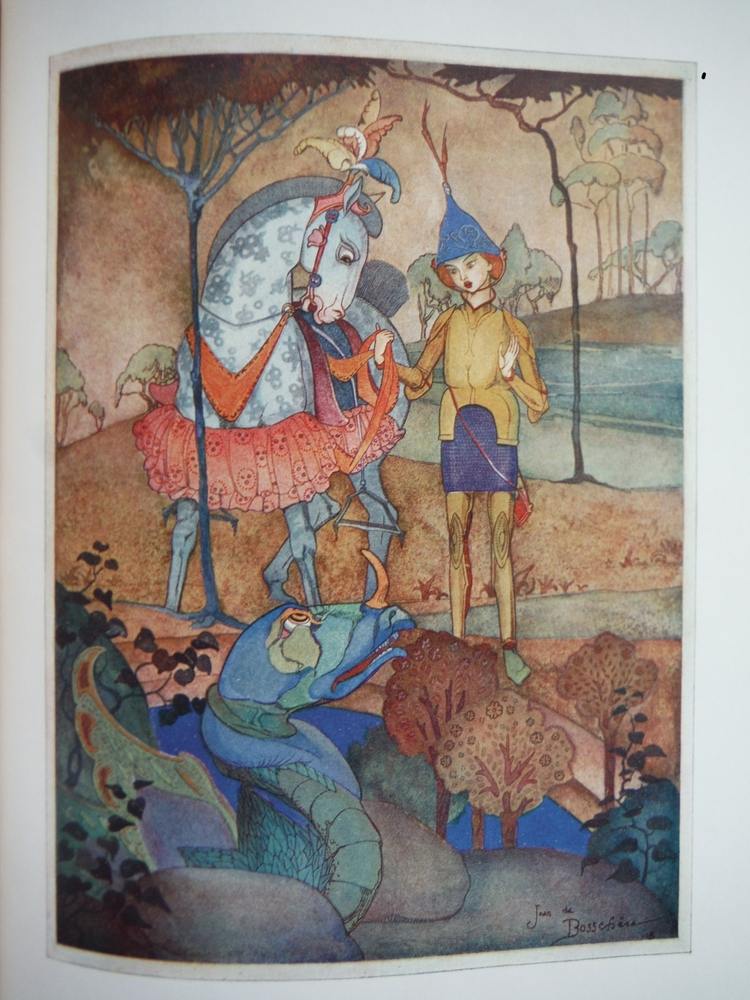 Image 2 of Folk Tales of Flanders collected and illustrated by Jean de Bosschère.
