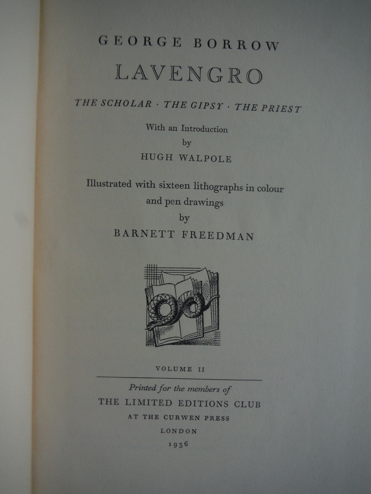 Image 2 of Lavengro : The Scholar - The Gipsy - The Priest