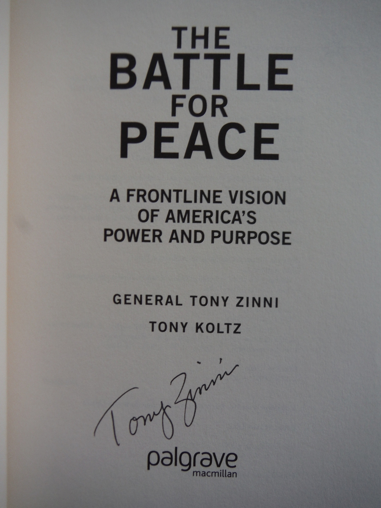 Image 1 of The Battle for Peace: A Frontline Vision of America's Power and Purpose