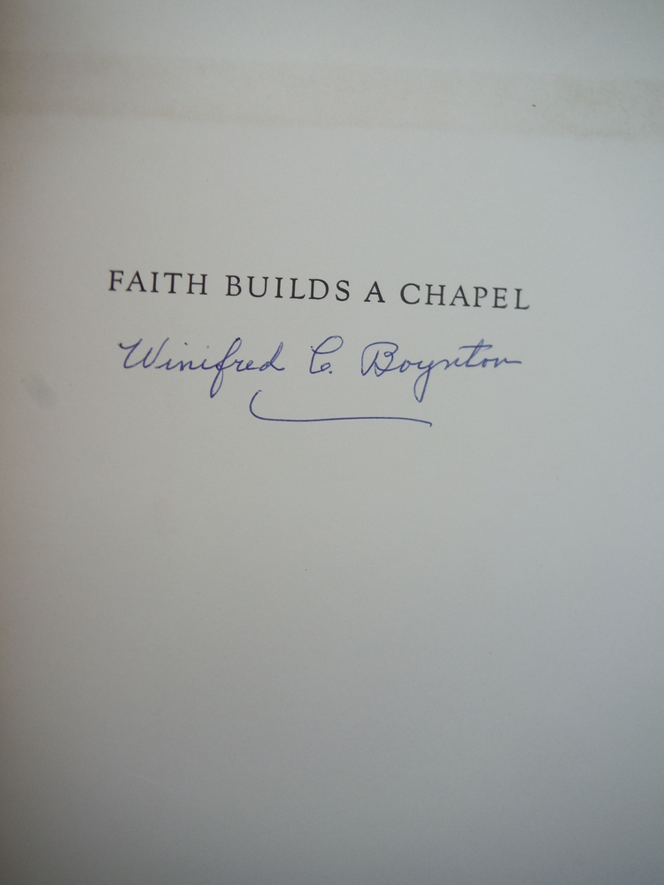 Image 1 of Faith Builds a Chapel: The Story of an Adventure in Craftmanship