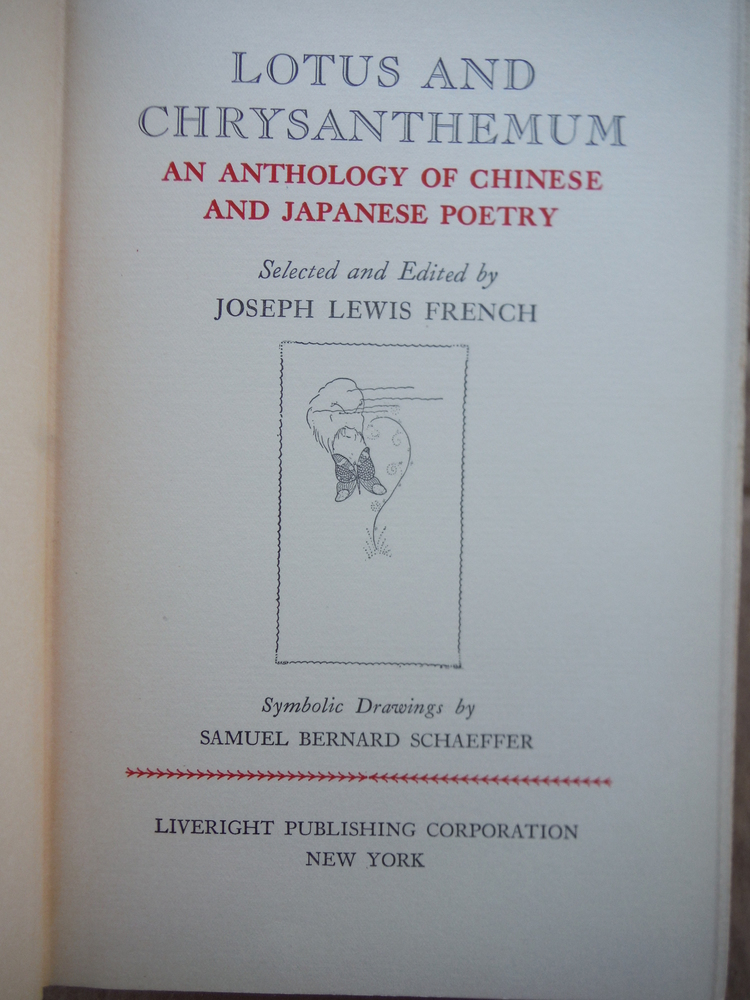 Image 1 of Lotus and Chrysanthemum-An Anthology of Chinese and Japanese Poetry