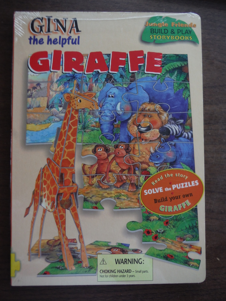 Gina the Helpful Giraffe (Jungle Friends Build & Play Storybooks)