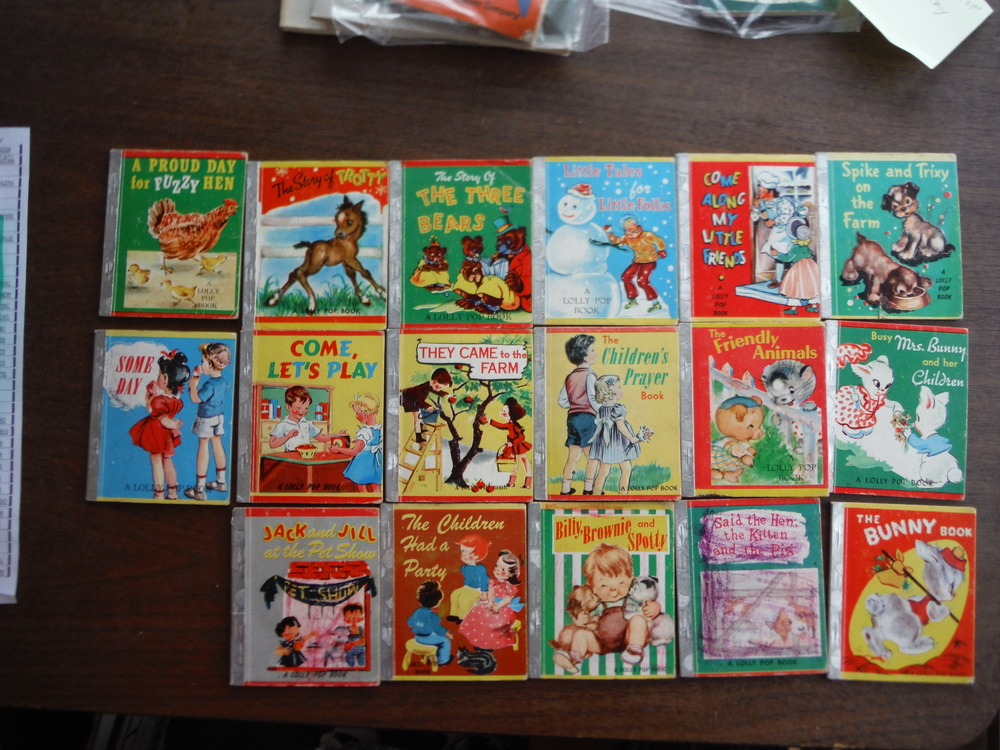 Image 0 of Lowe's Lolly Pop Books - Lot of 17