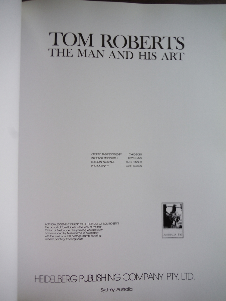 Image 1 of Tom Roberts, the Man and his Art