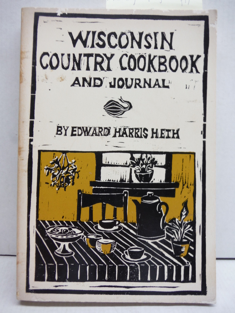 Wisconsin country cookbook and journal