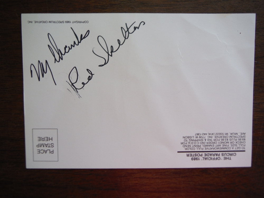 Image 1 of The Great Circus Parade (Signed by Red Skelton)
