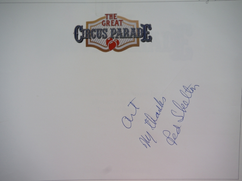 Image 2 of The Great Circus Parade (Signed by Red Skelton)