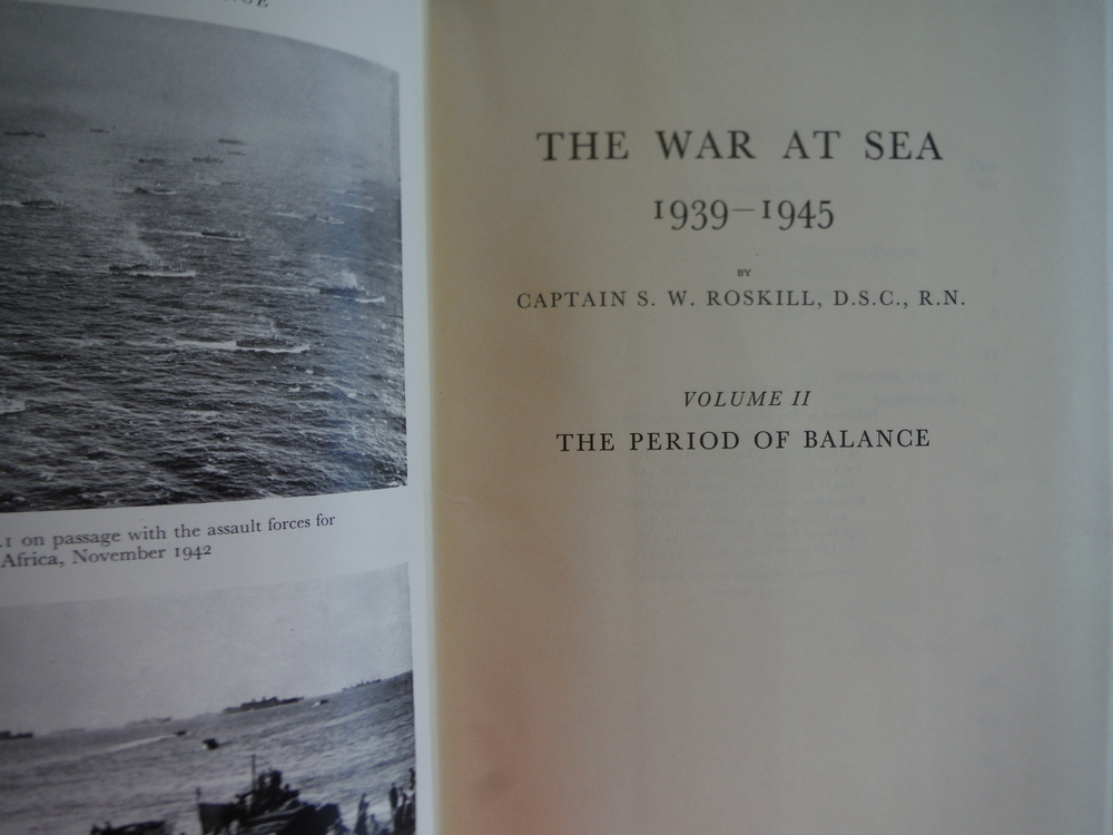 Image 1 of War at Sea - 1939-1945 - Volume 2 - The Period of Balance, The