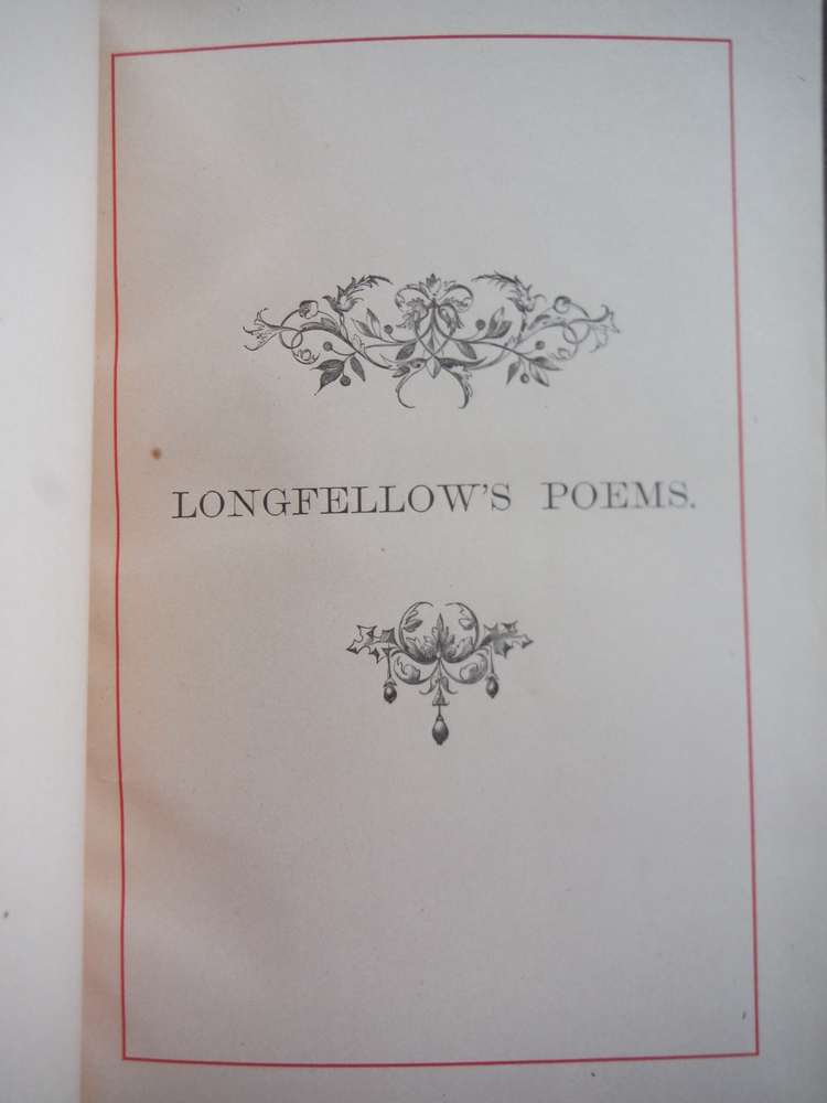 Image 1 of Poems of Henry Wadsworth Longfellow New Revised Edition with Numerous Illustrati