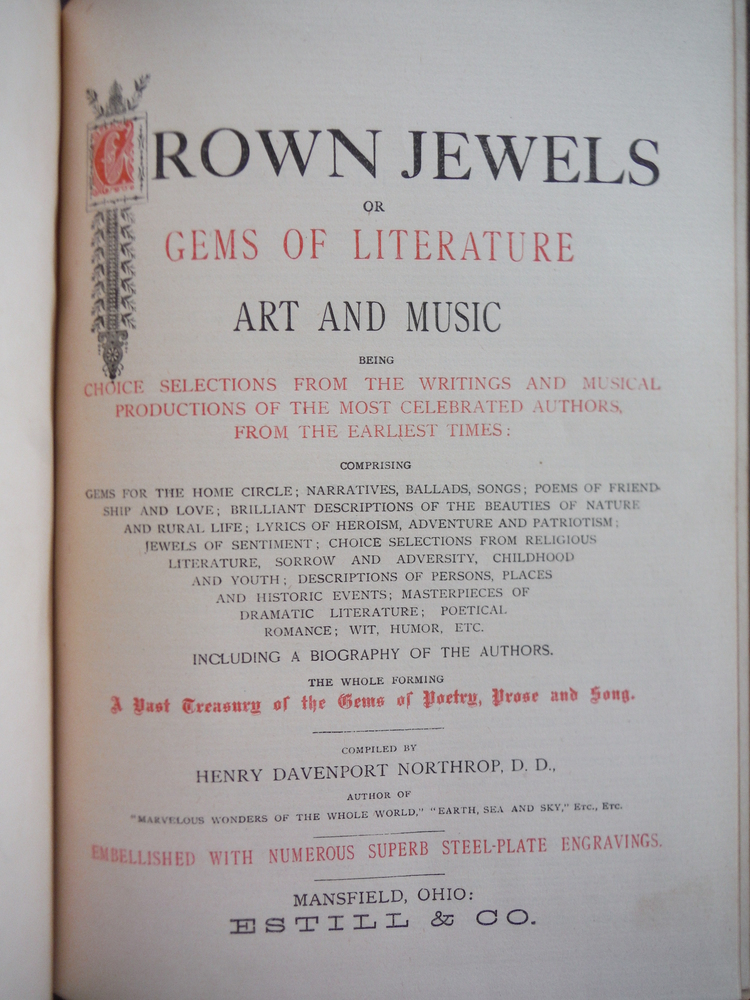 Image 2 of Crown Jewels or Gems of Literature Art and Music