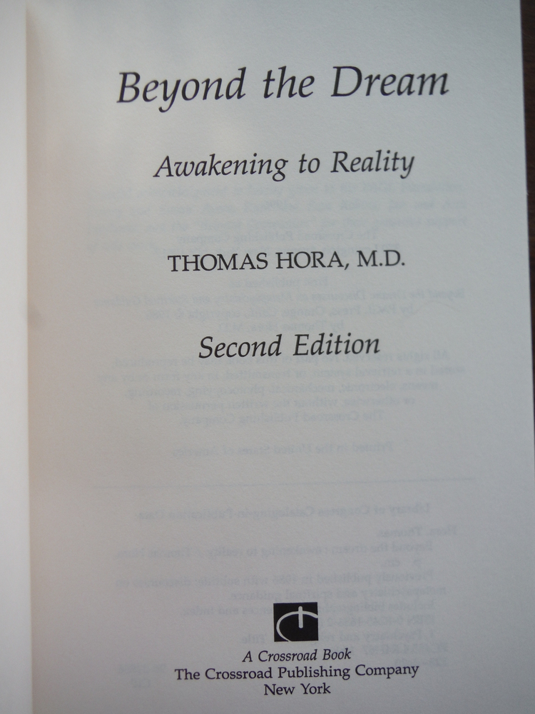 Image 1 of Beyond The Dream: Awakening to Reality