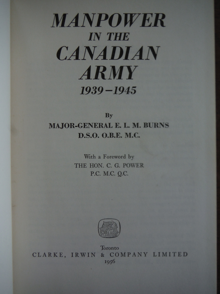 Image 1 of Manpower in the Canadian Army, 1939-1945