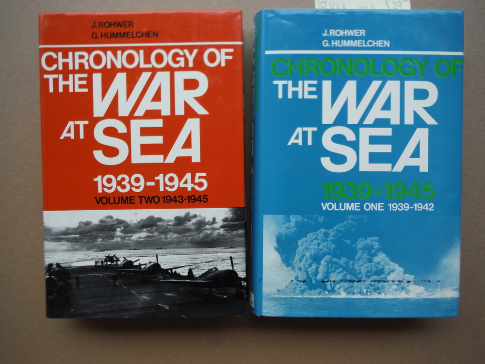 Image 1 of Chronology of the War at Sea 1939-1945 (2 Vols)