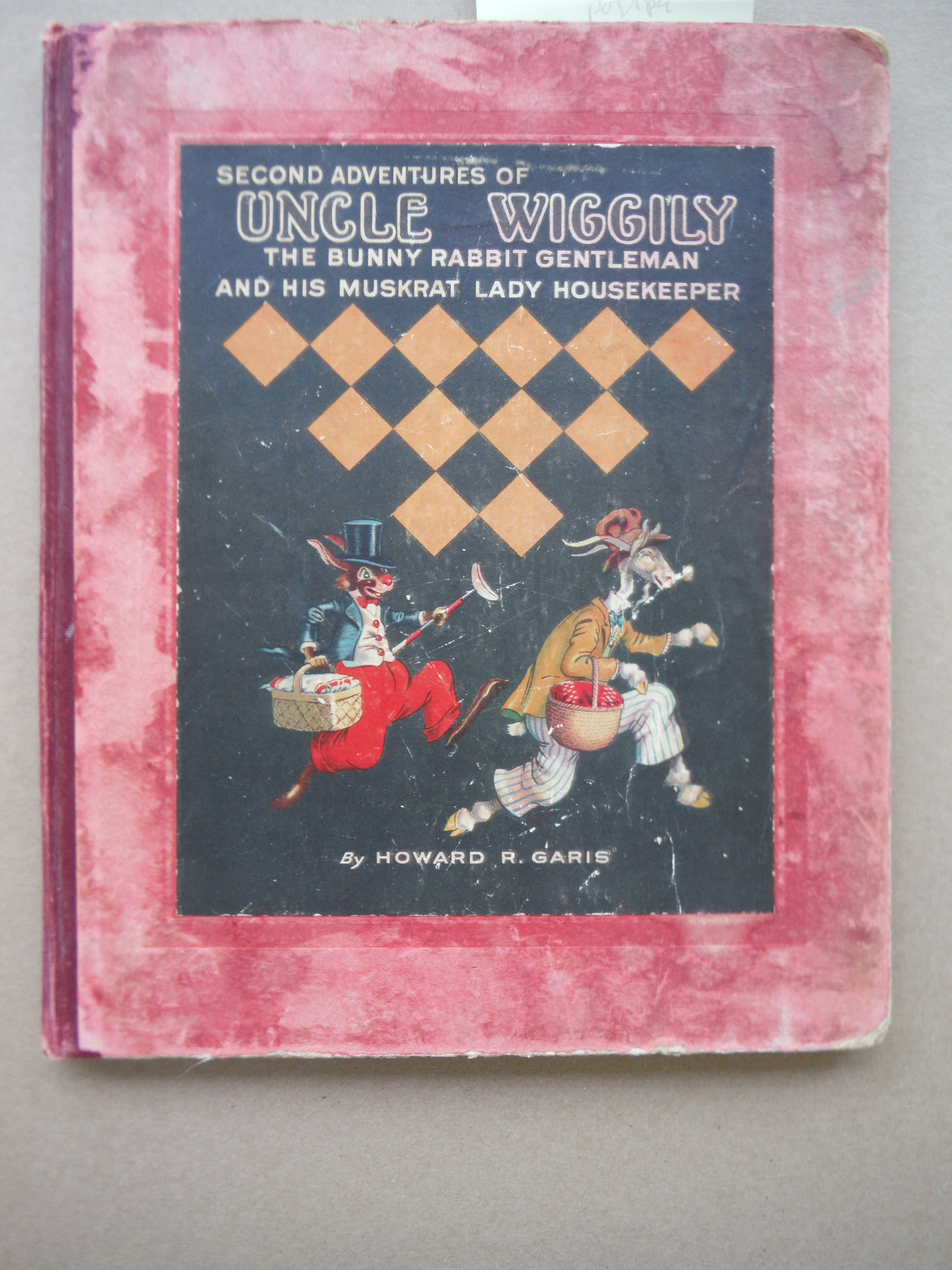 Image 0 of The second adventures of Uncle Wiggily: The bunny rabbit gentleman and his muskr