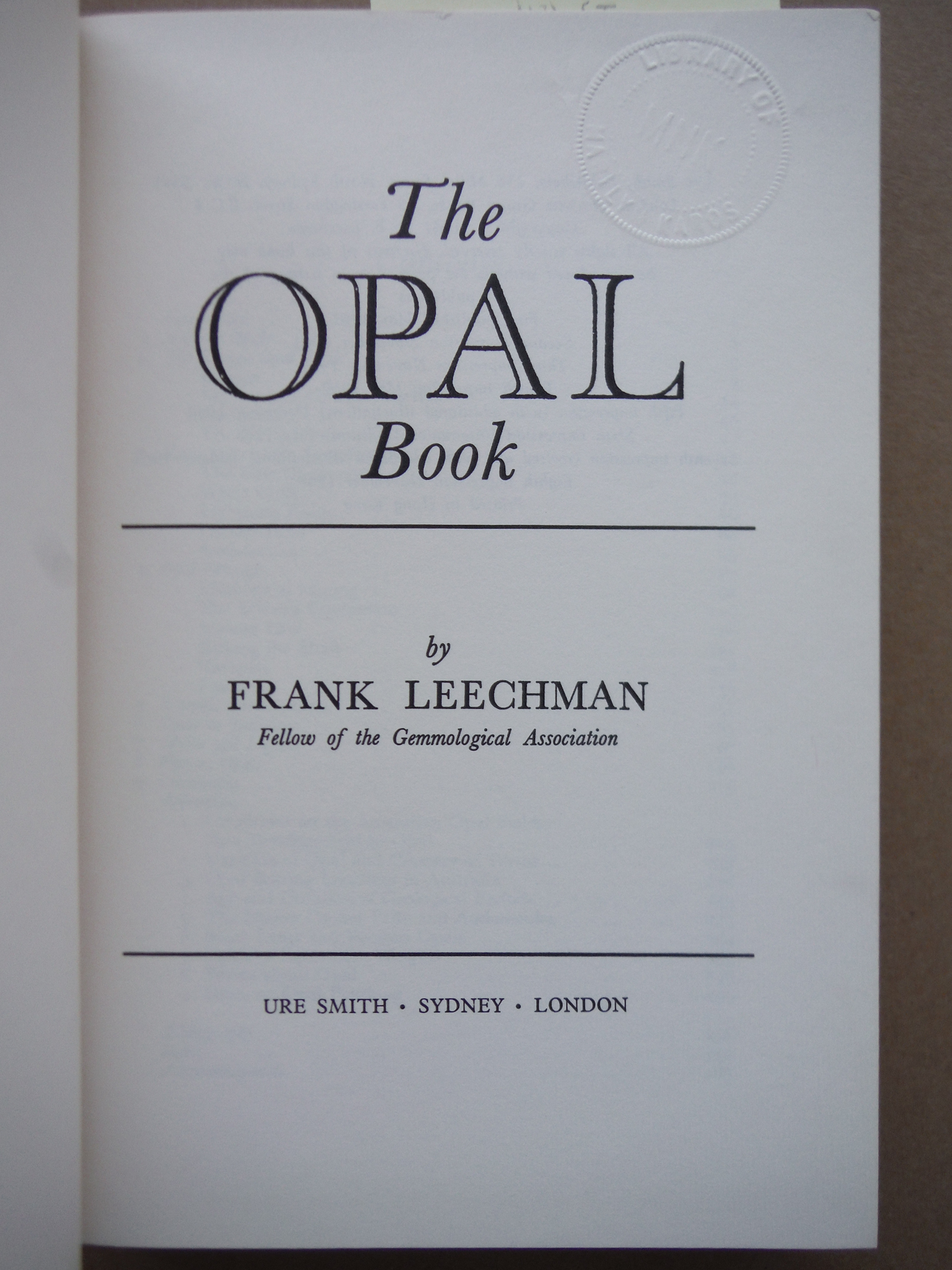 Image 1 of OPAL BOOK/COMPLETE GUIDE TO THE FA