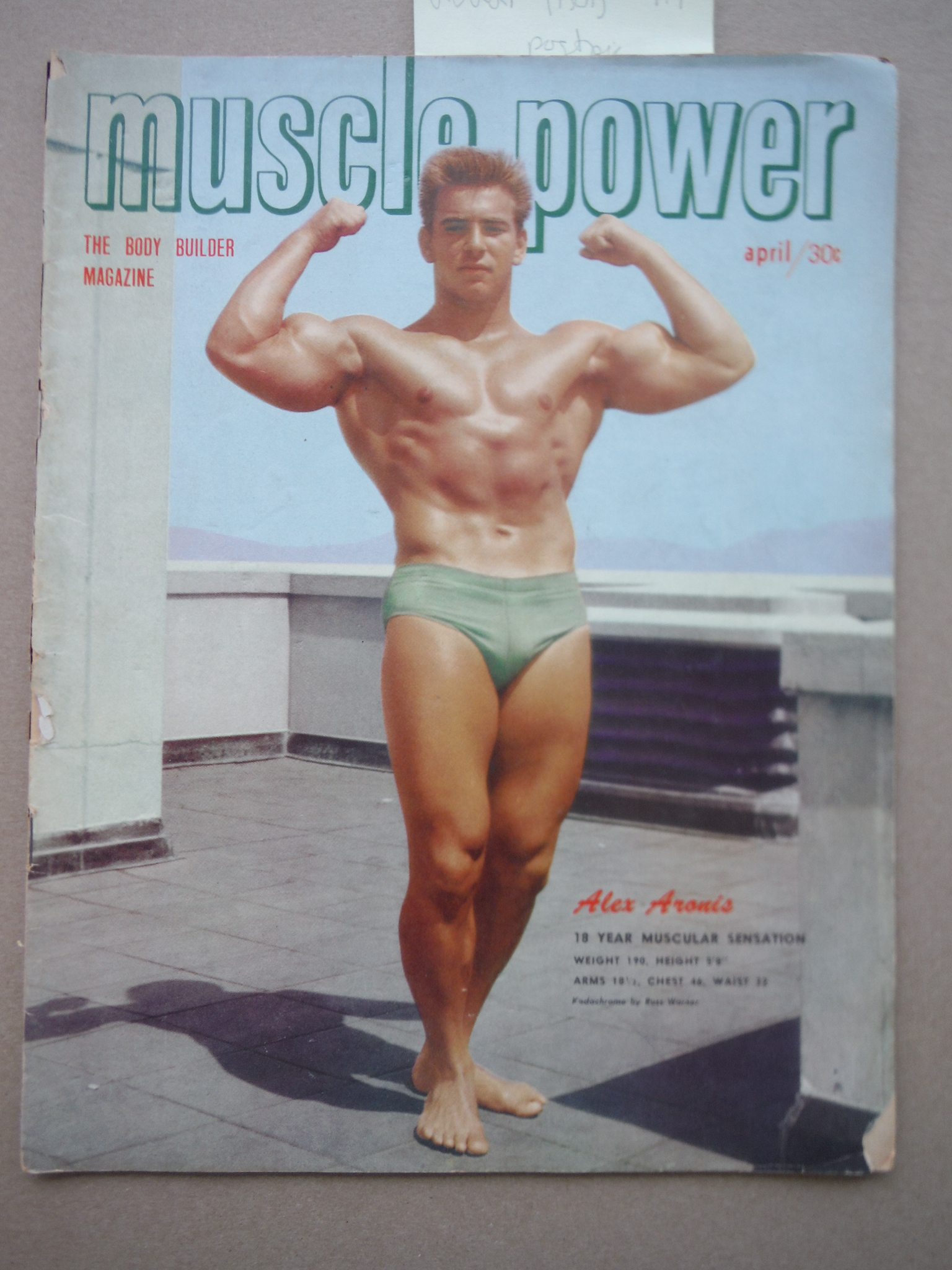 Image 0 of Muscle Power Magazine April 1951