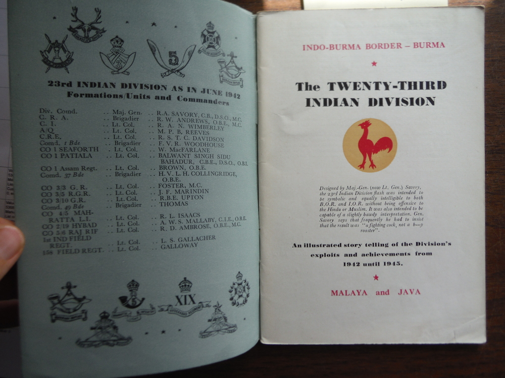 Image 1 of The Twenty-Third Indian Division An Illustrated Story Telling of the Division's