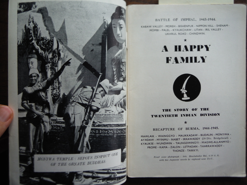 Image 1 of A  Happy Family The Story of the Twentieth Indian Division