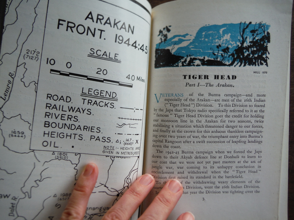 Image 1 of Tiger Head: The story of the 26th Indian Division