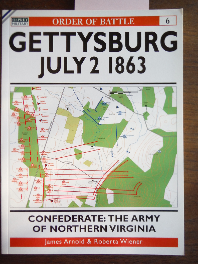 Gettysburg July 2 1863: Confederate: The Army of Northern Virginia (Order of Bat