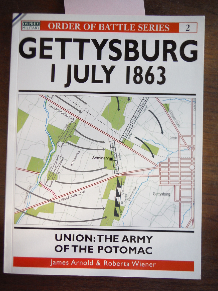 Image 0 of Gettysburg July 1 1863: Union: The Army of the Potomac (Order of Battle)