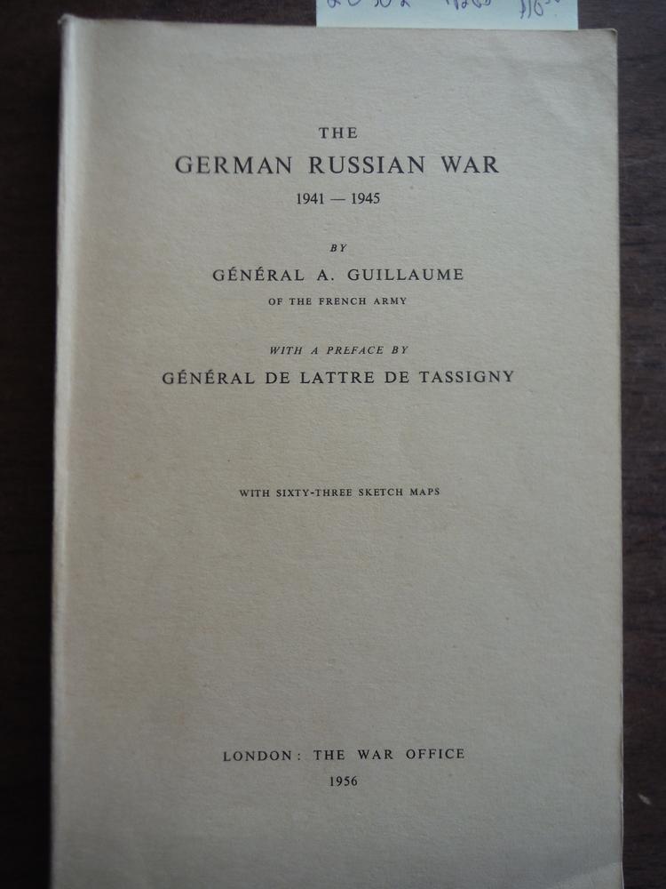 Image 0 of The German Russian War 1941-1945
